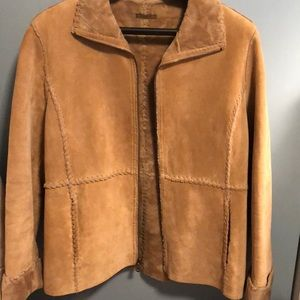 ???Vintage GUESS leather jacket -M 🧥??????